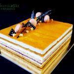 Barackos túró torta