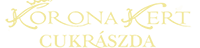 Koronakert Cukrászda Logo