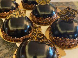 Belga csokoládé torta